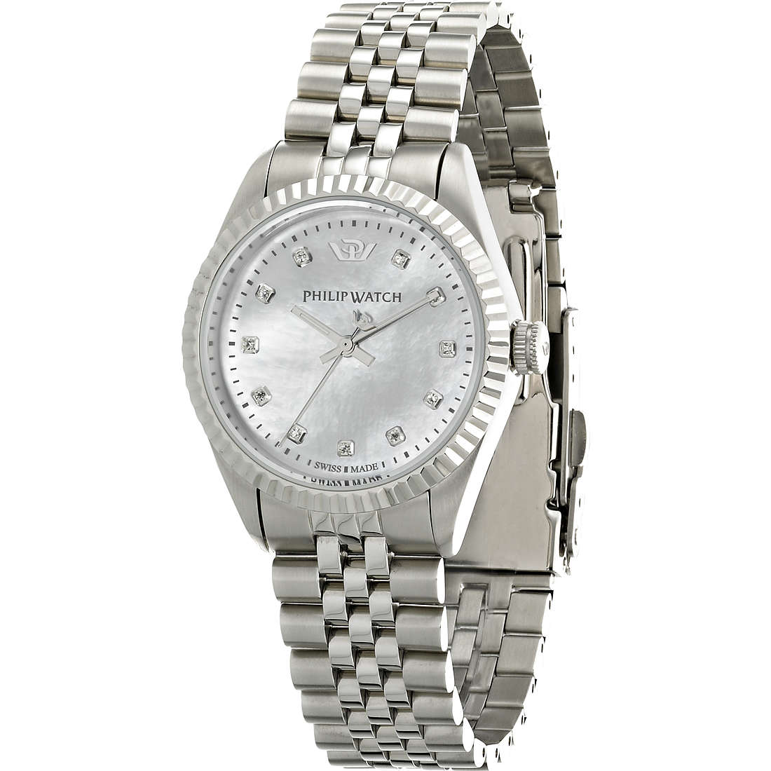 montre seul le temps femme Philip Watch Caribe R8253107512
