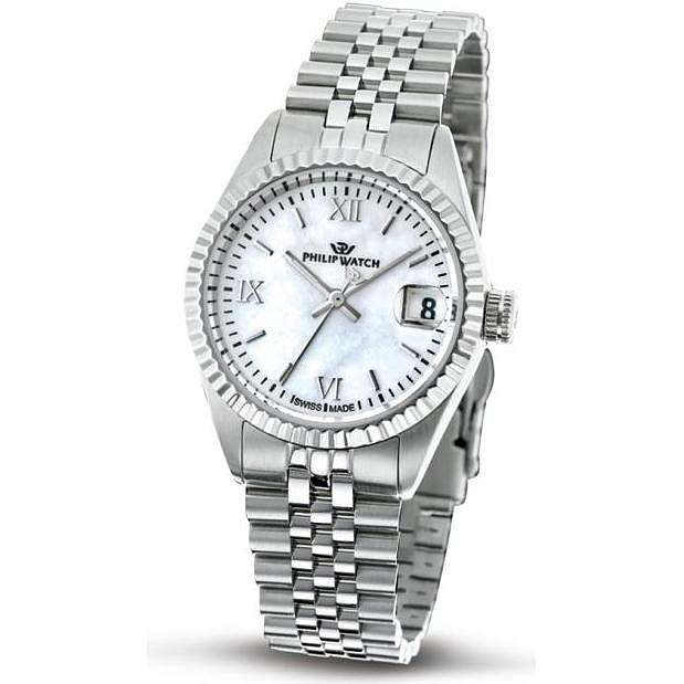 montre seul le temps femme Philip Watch Caribe R8253597505