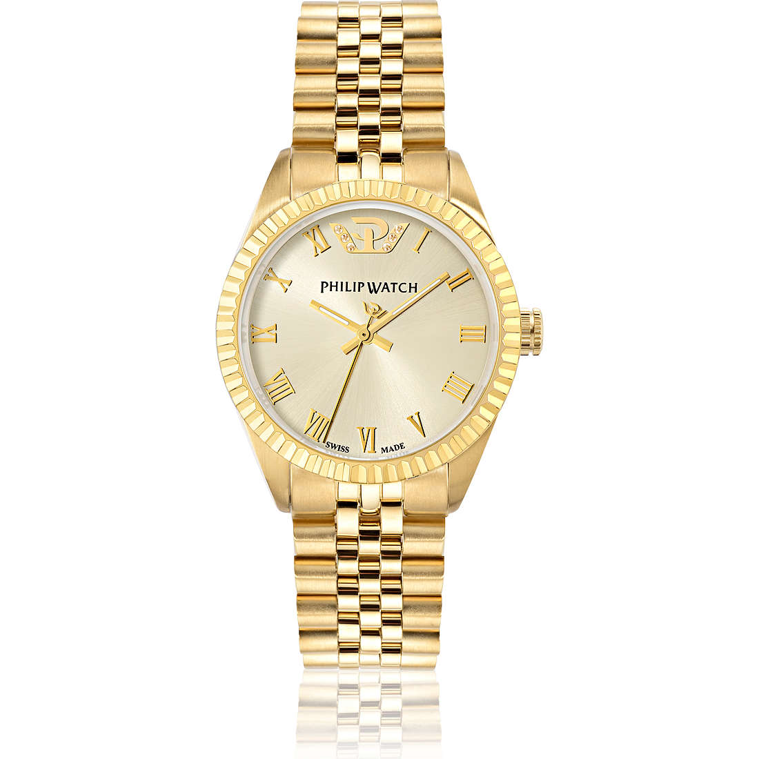 montre seul le temps femme Philip Watch Caribe R8253597518