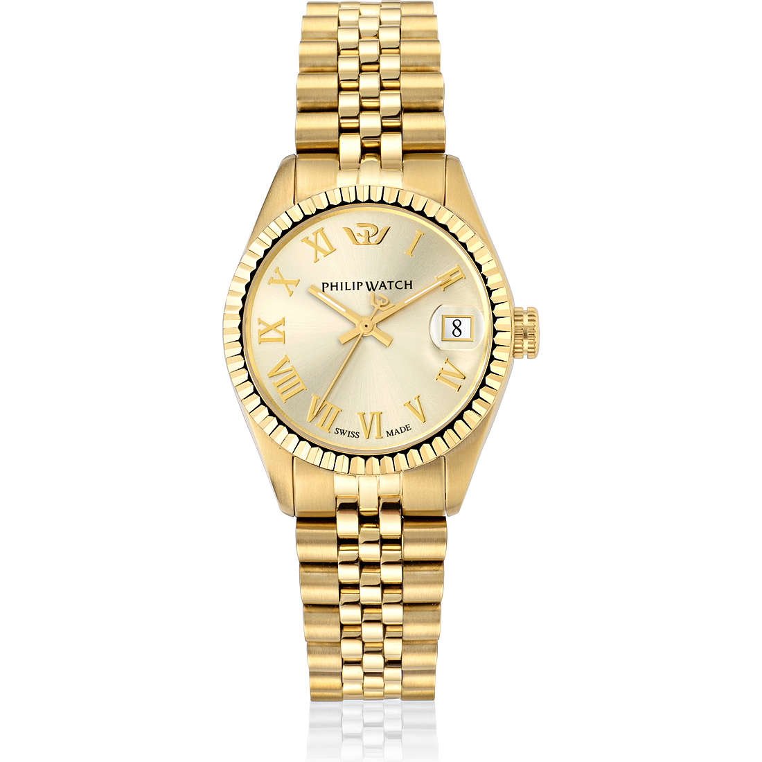 montre seul le temps femme Philip Watch Caribe R8253597519