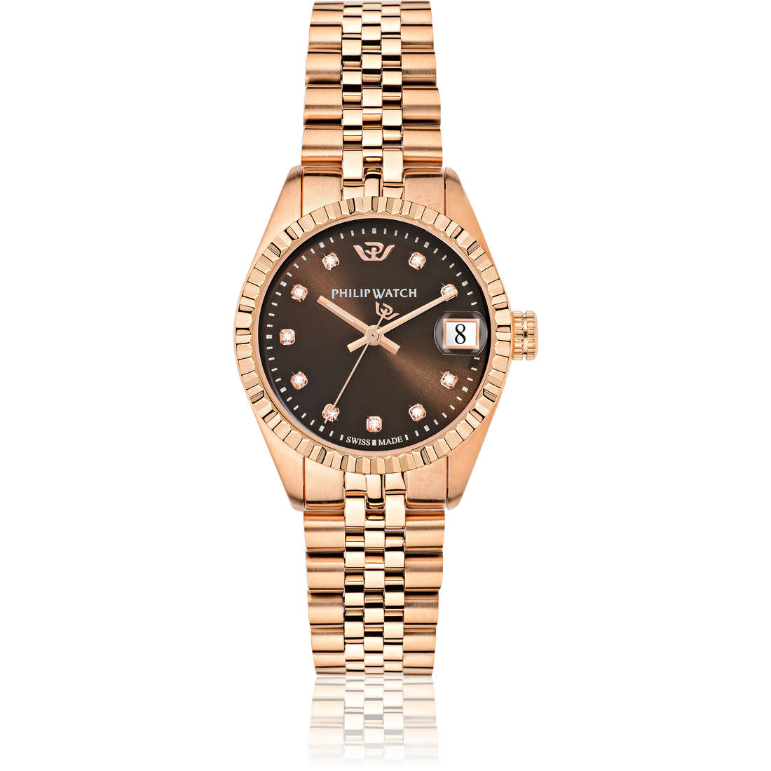 montre seul le temps femme Philip Watch Caribe R8253597520