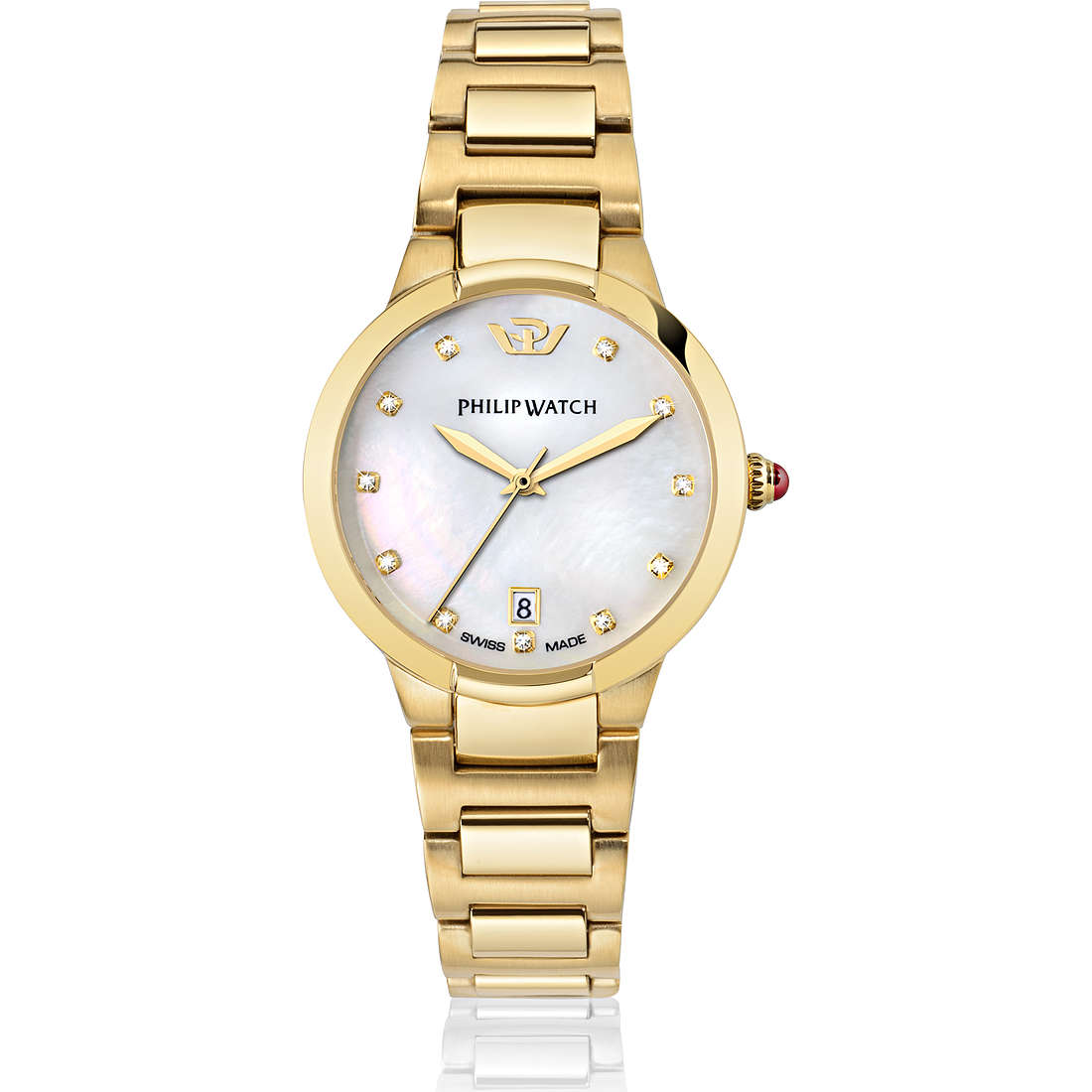 montre seul le temps femme Philip Watch Corley R8253599501