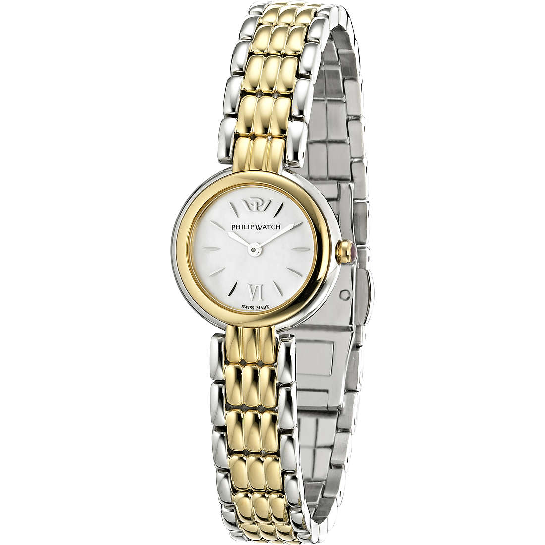 montre seul le temps femme Philip Watch Ginevra R8253491511