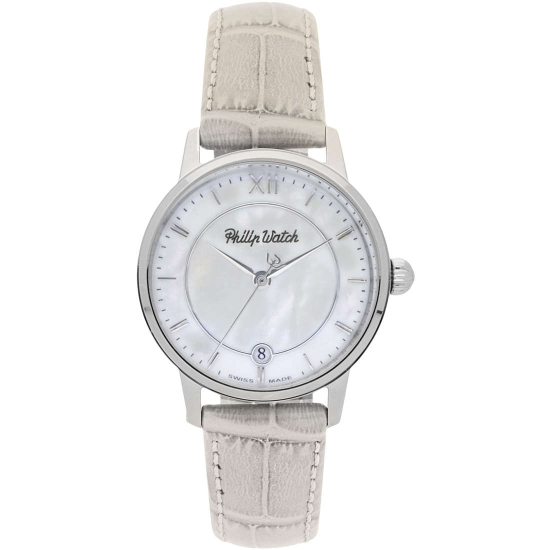 montre seul le temps femme Philip Watch Grand Archive R8251598502