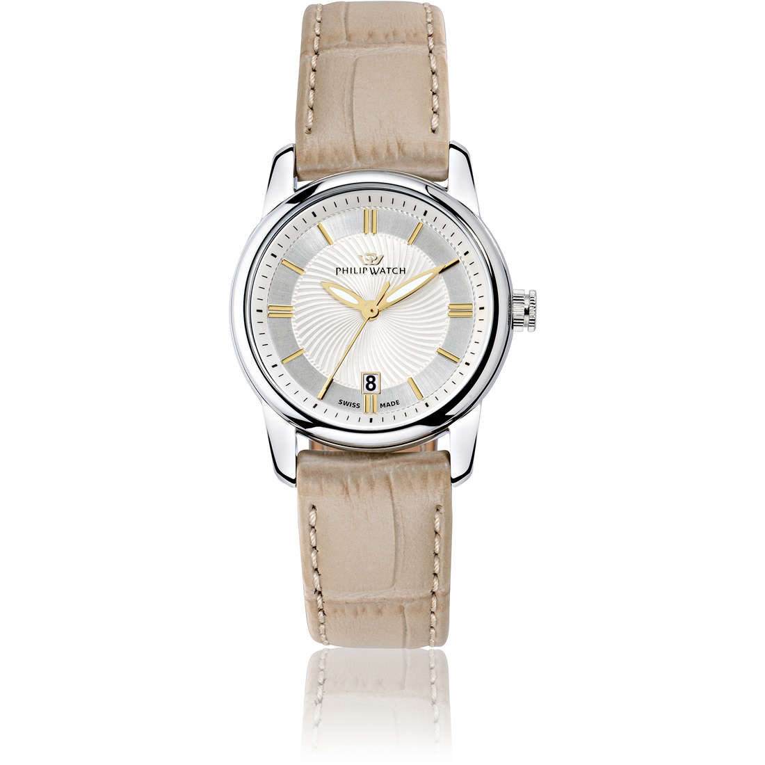 montre seul le temps femme Philip Watch Kent R8251178505