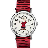 montre seul le temps femme Timex Weekender Peanuts TW2R41200