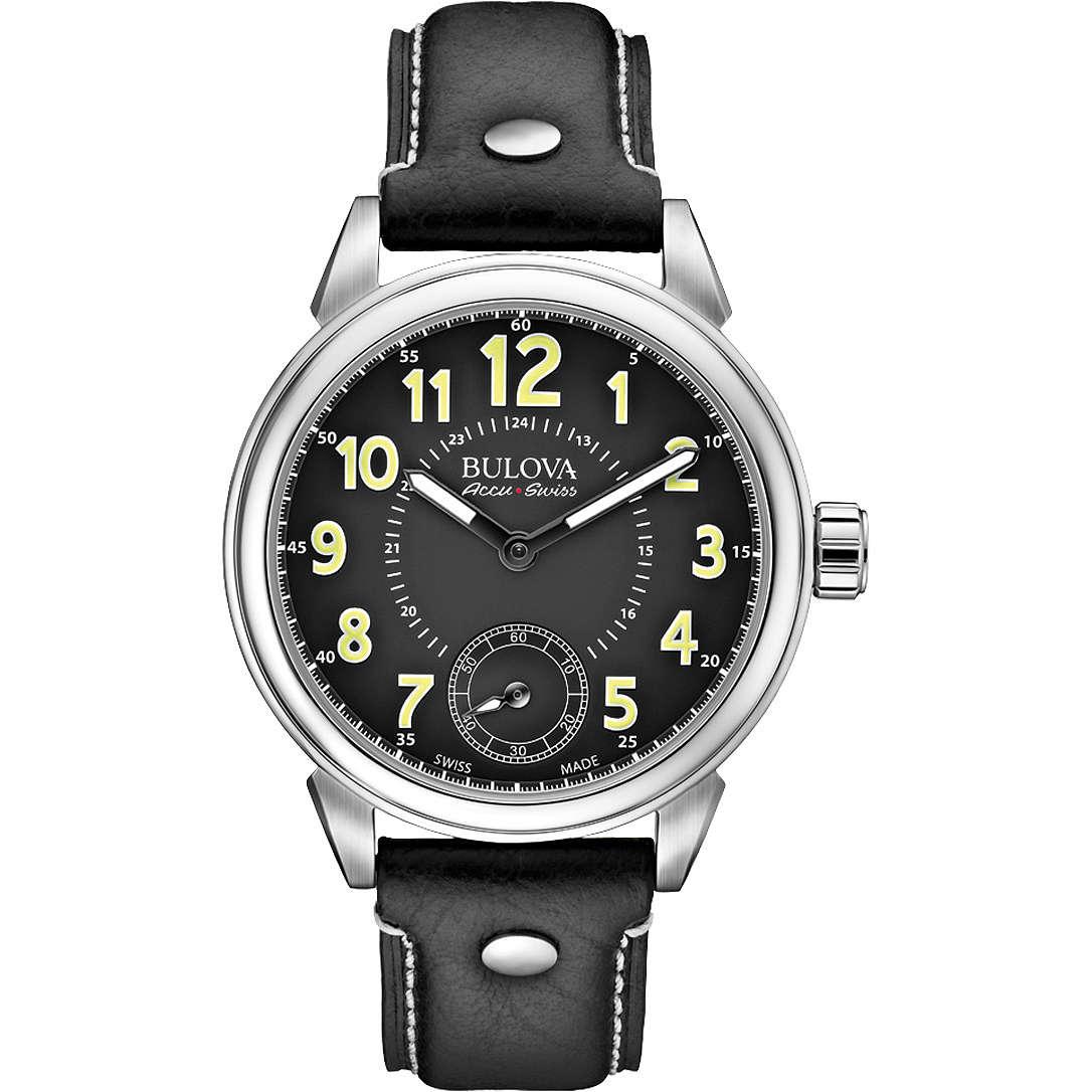 montre seul le temps homme Bulova Accu Swiss Gemini 63A120