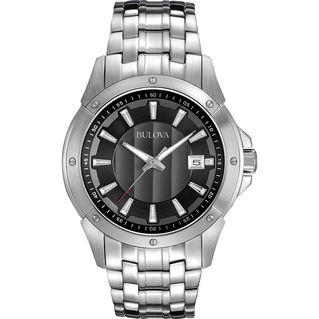 montre seul le temps homme Bulova Dress 96B169