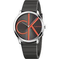montre seul le temps homme Calvin Klein Minimal K3M211T3