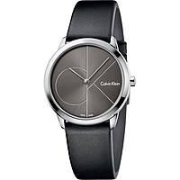 montre seul le temps homme Calvin Klein Minimal K3M221C3