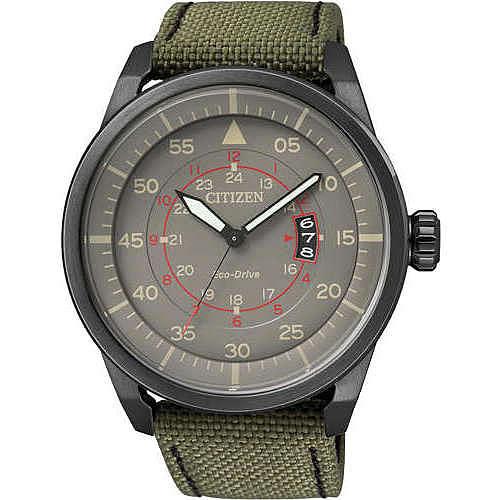 montre seul le temps homme Citizen Eco-Drive AW1365-01H
