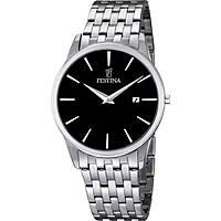 montre seul le temps homme Festina Acero Clasico F6833/2