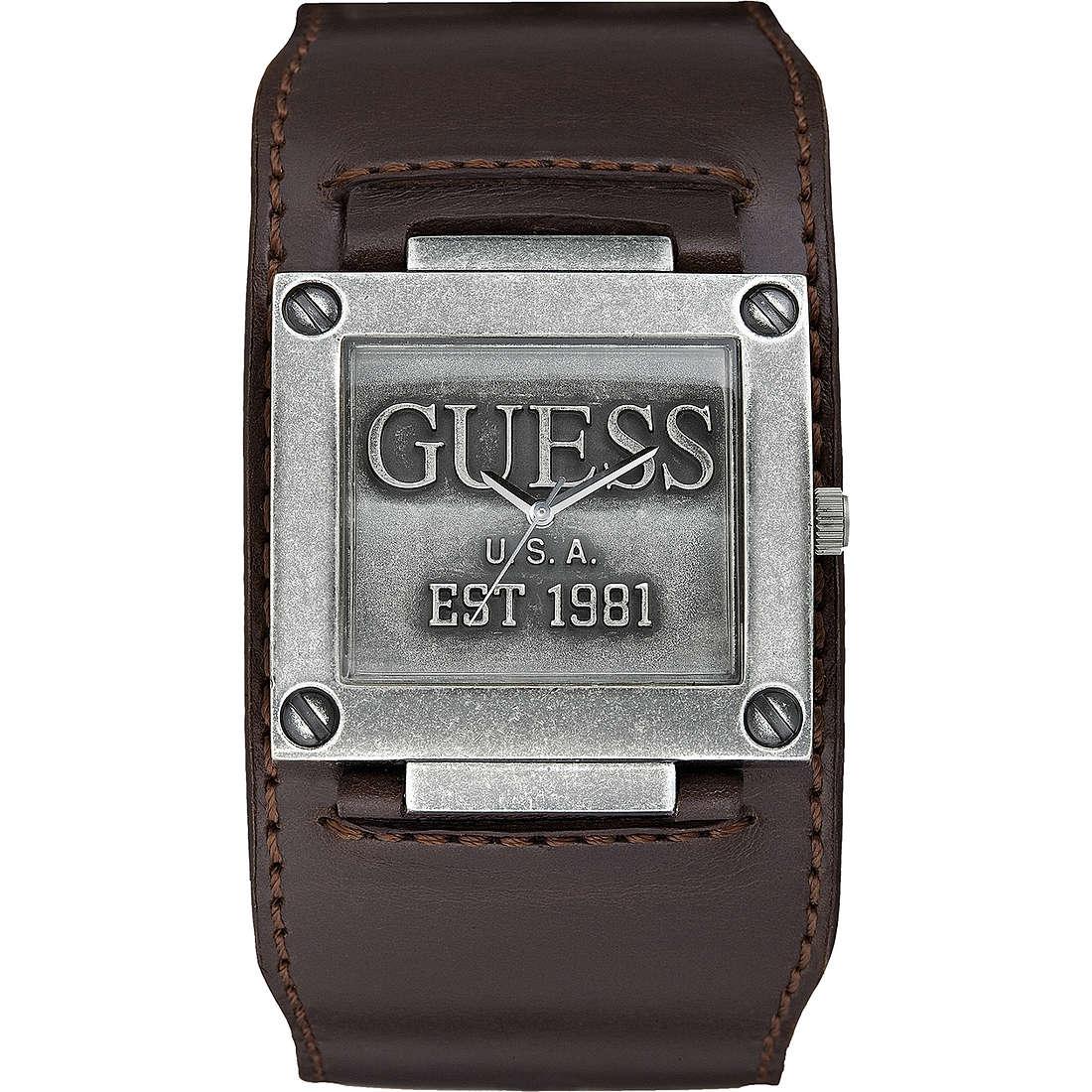 montre seul le temps homme Guess W90025G1