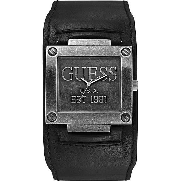 montre seul le temps homme Guess W90025G2