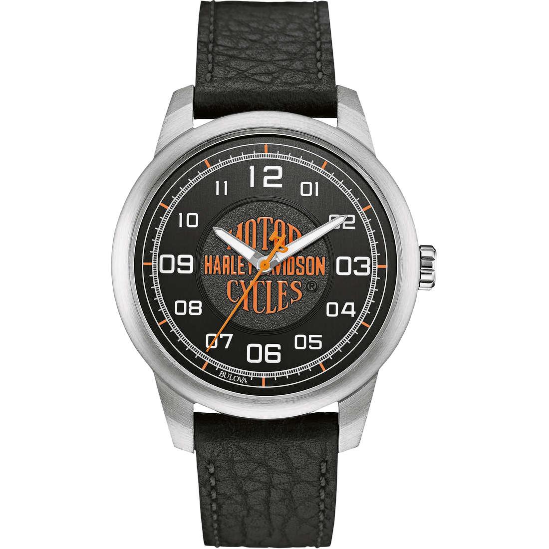 montre seul le temps homme Harley Davidson 76A155