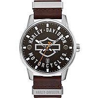 montre seul le temps homme Harley Davidson 76B178