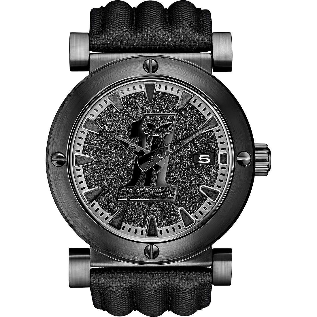 montre seul le temps homme Harley Davidson 78B131