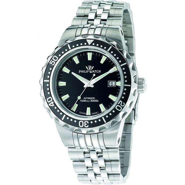 montre seul le temps homme Philip Watch Caribe R8223597002