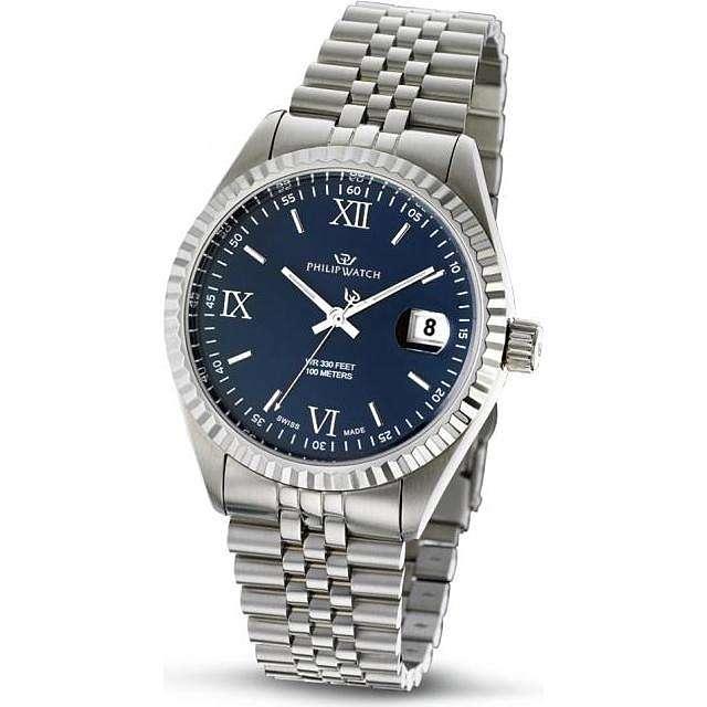 montre seul le temps homme Philip Watch Caribe R8253597014
