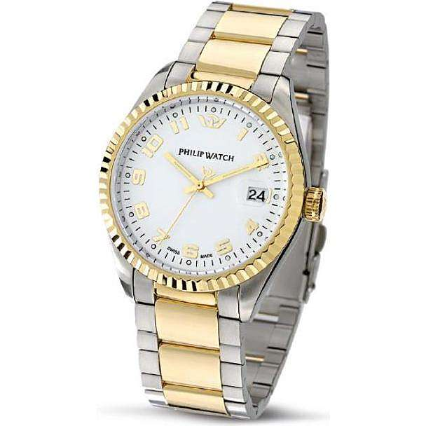 montre seul le temps homme Philip Watch Caribe R8253597016