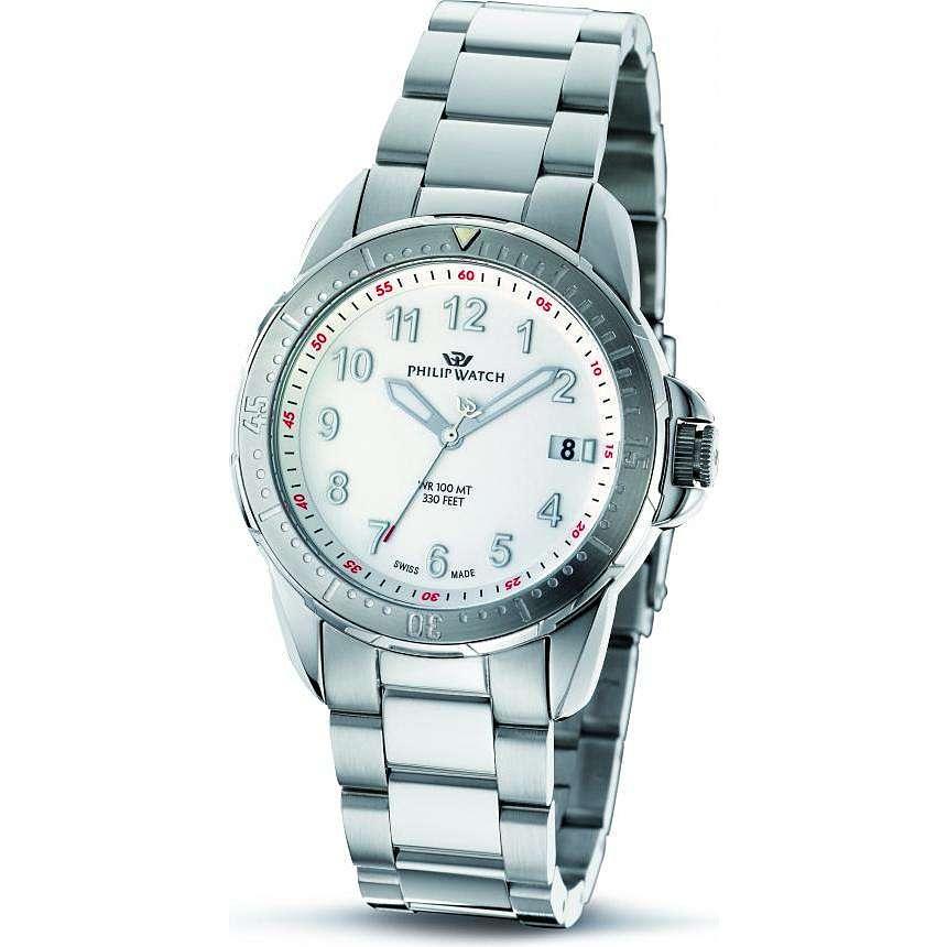 montre seul le temps homme Philip Watch Cruiser R8253194045