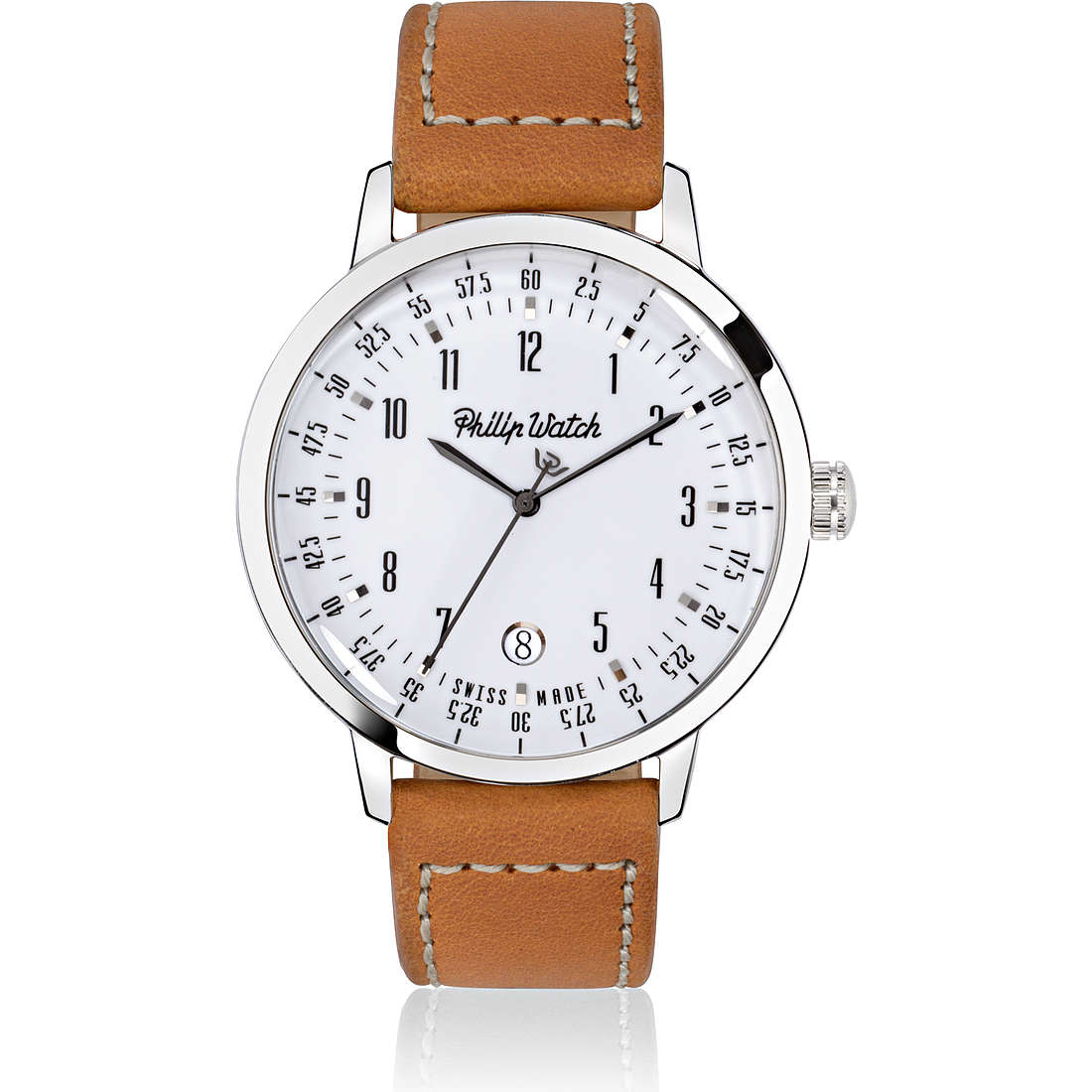 montre seul le temps homme Philip Watch Grand Archive R8251598002