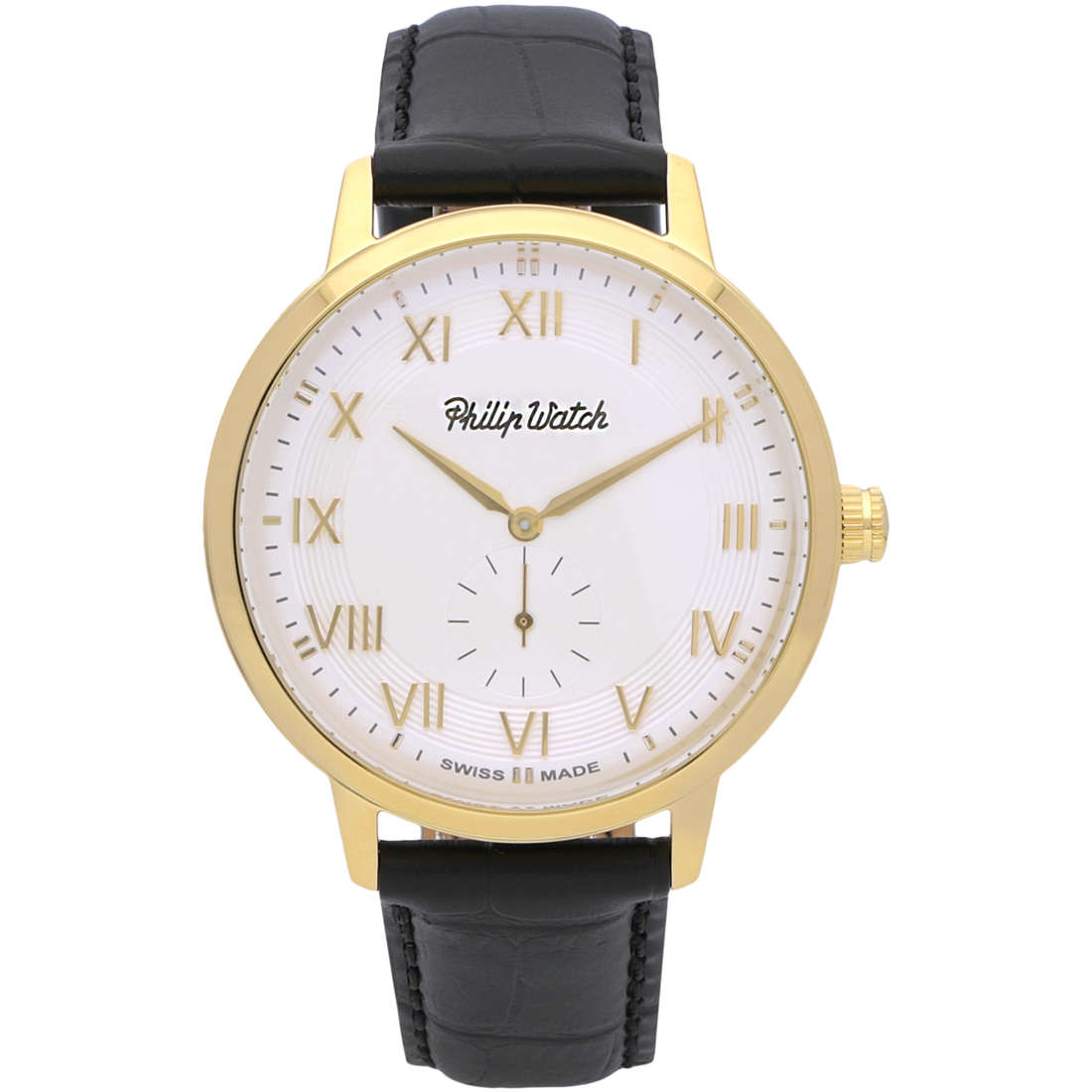 montre seul le temps homme Philip Watch Grand Archive R8251598005