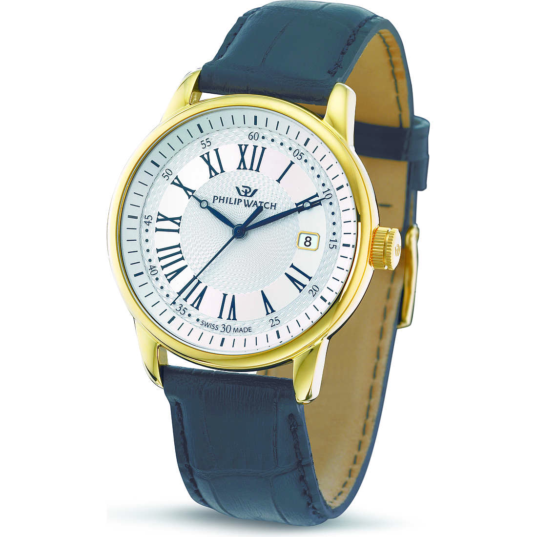montre seul le temps homme Philip Watch Kent R8251178007
