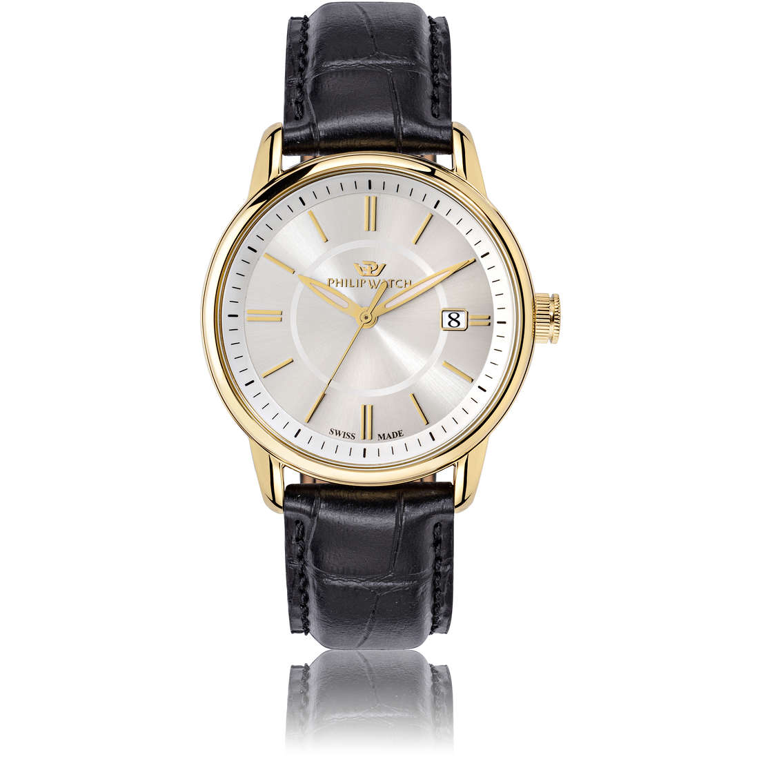 montre seul le temps homme Philip Watch Kent R8251178009