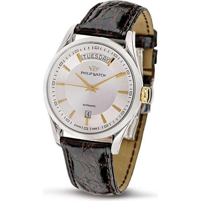 montre seul le temps homme Philip Watch Sunray R8221680001