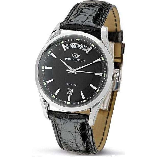 montre seul le temps homme Philip Watch Sunray R8221680002
