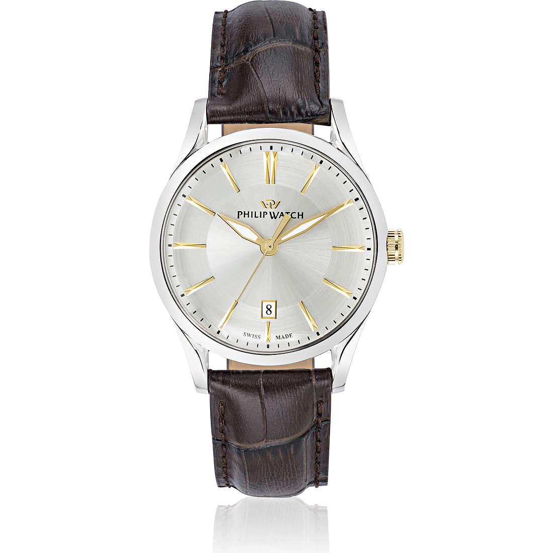 montre seul le temps homme Philip Watch Sunray R8251180004