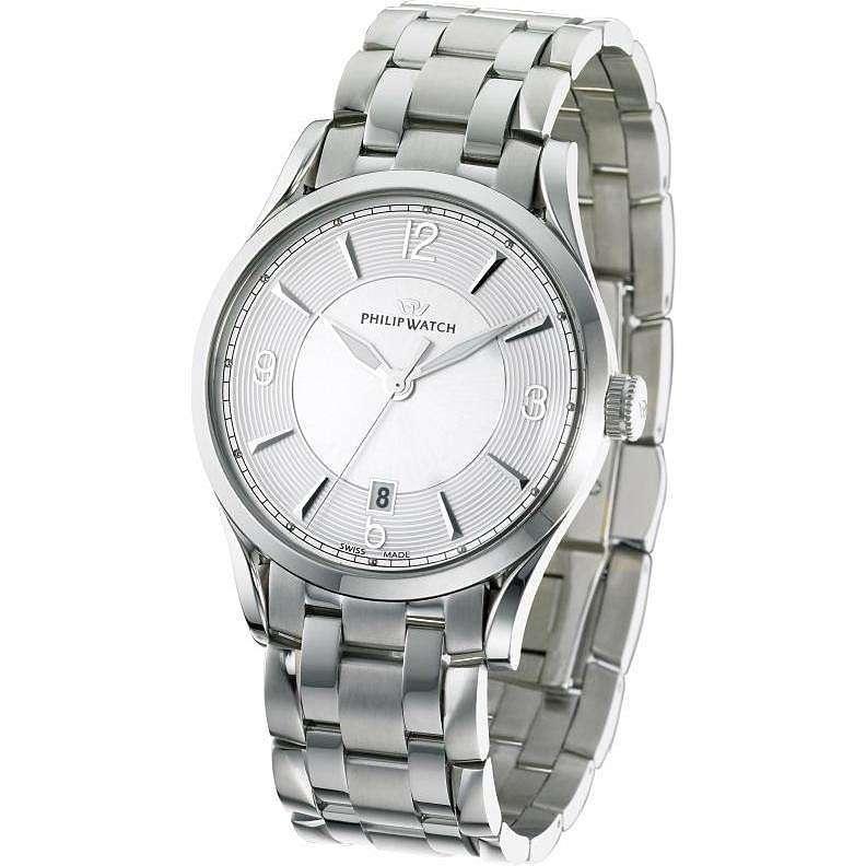 montre seul le temps homme Philip Watch Sunray R8253180001
