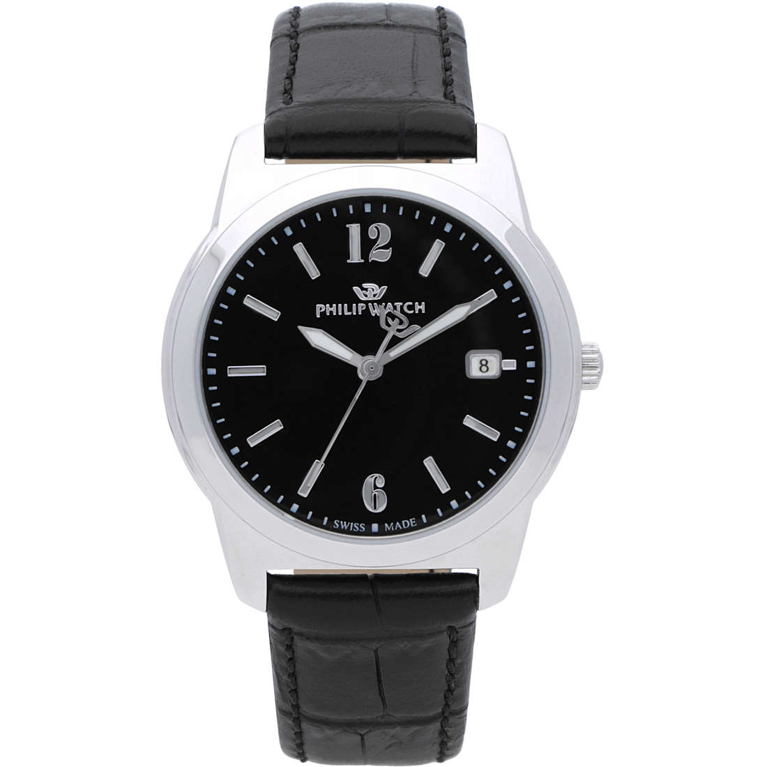 montre seul le temps homme Philip Watch Timeless R8251495001