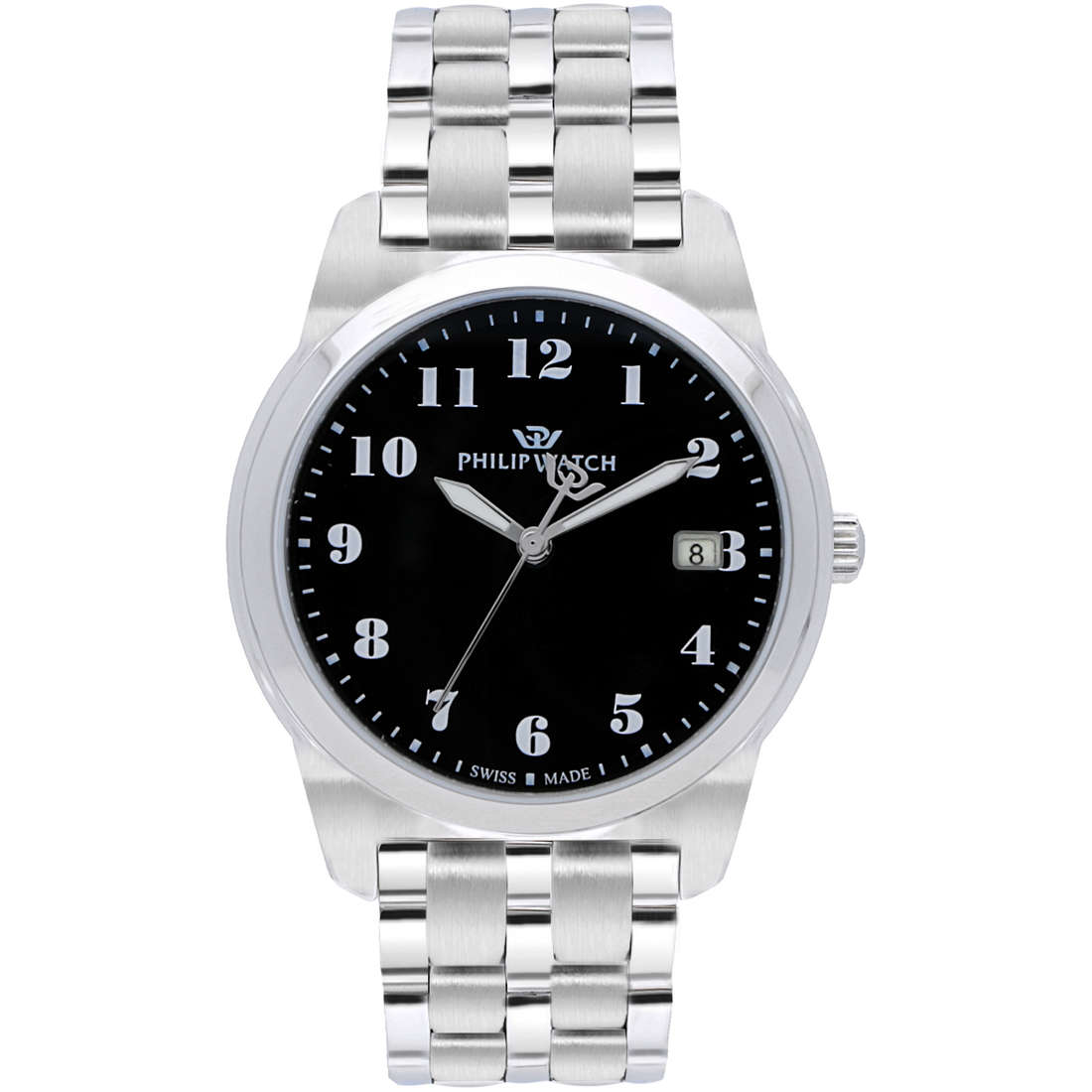 montre seul le temps homme Philip Watch Timeless R8253495001