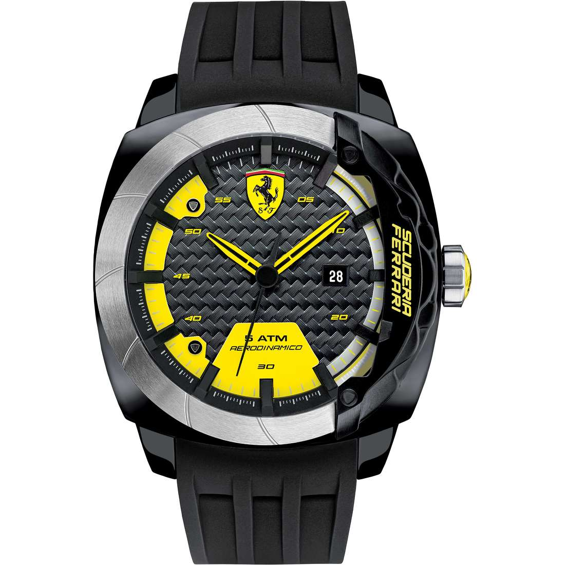montre seul le temps homme Scuderia Ferrari Aero FER0830204