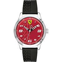 montre seul le temps homme Scuderia Ferrari Pitlane FER0840021