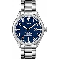 montre seul le temps homme Timex Waterbury Collection TW2P64500BR