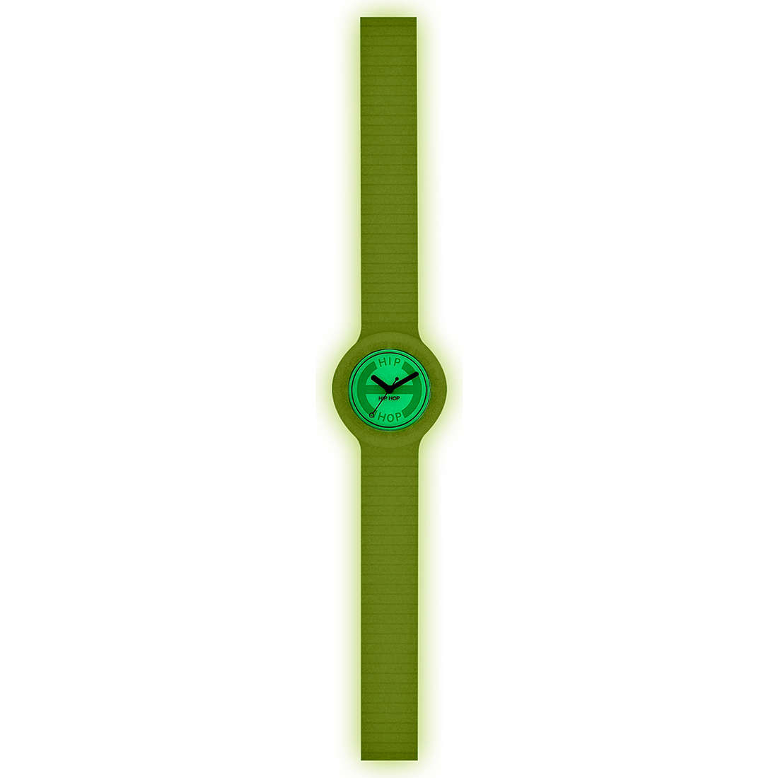 montre seul le temps unisex Hip Hop Glowing HWU0188