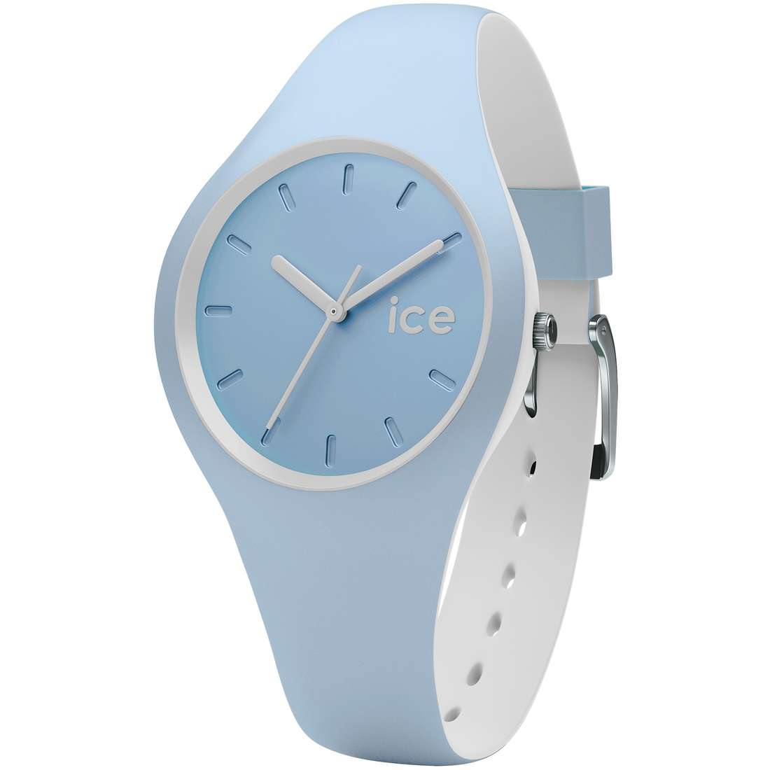 montre seul le temps unisex ICE WATCH Ice Duo IC.DUO.WES.S.S.16