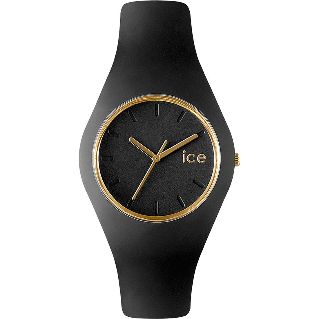montre seul le temps unisex ICE WATCH Ice Glam ICE.GL.BK.U.S.13