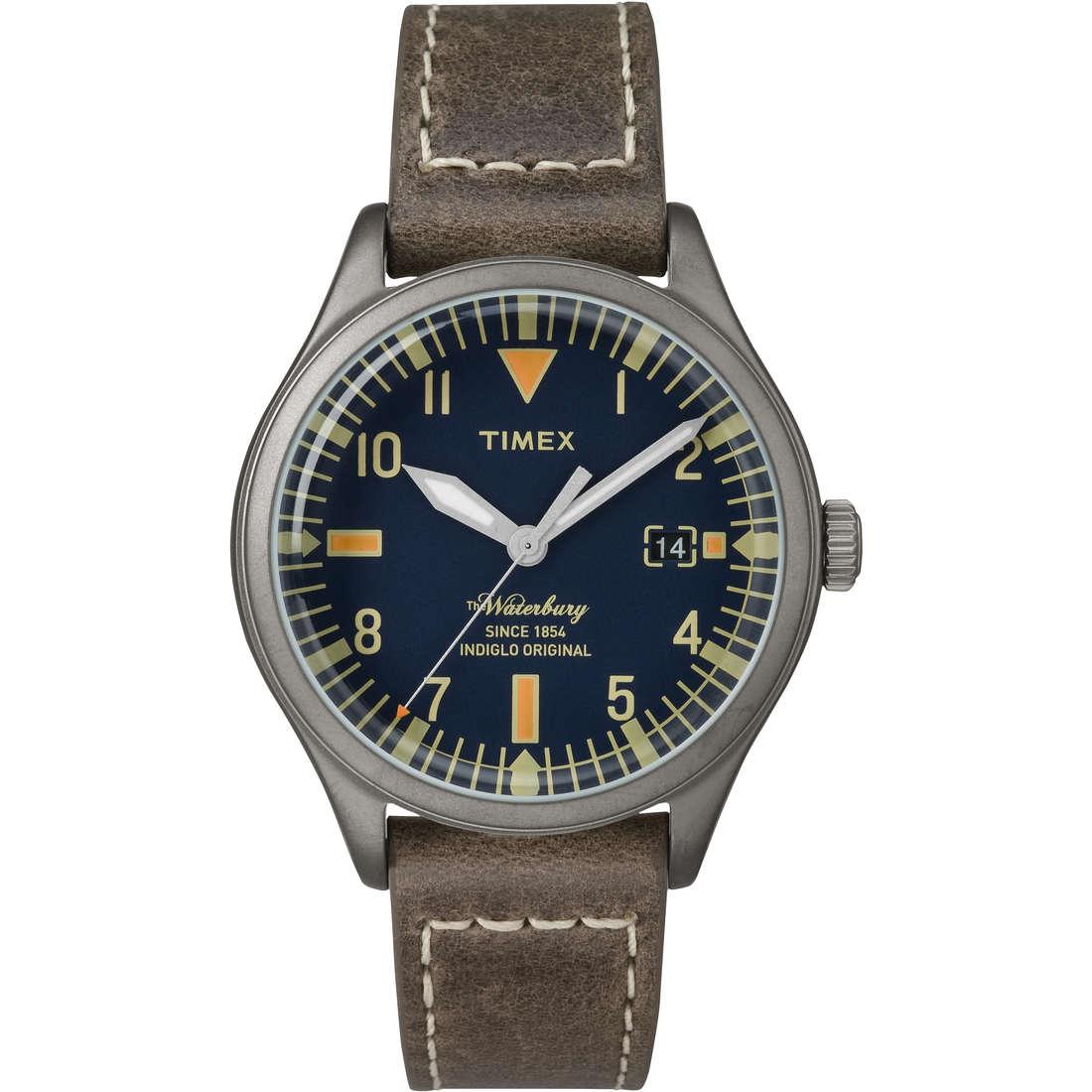 montre seul le temps unisex Timex Waterbury Collection TW2P84400