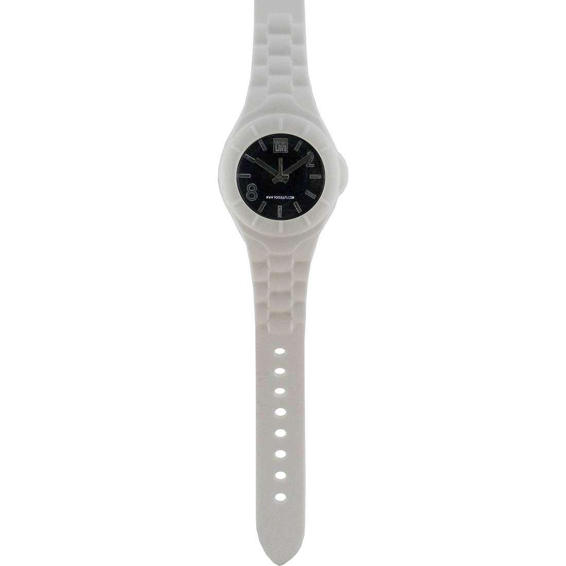 montre seul le temps unisex Too late Mash-up M003N