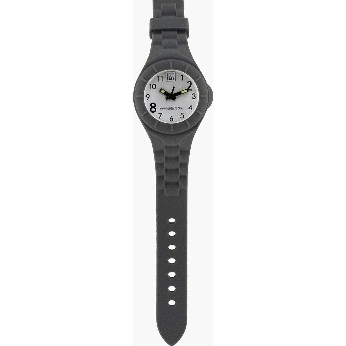 montre seul le temps unisex Too late Mash-up MS013B