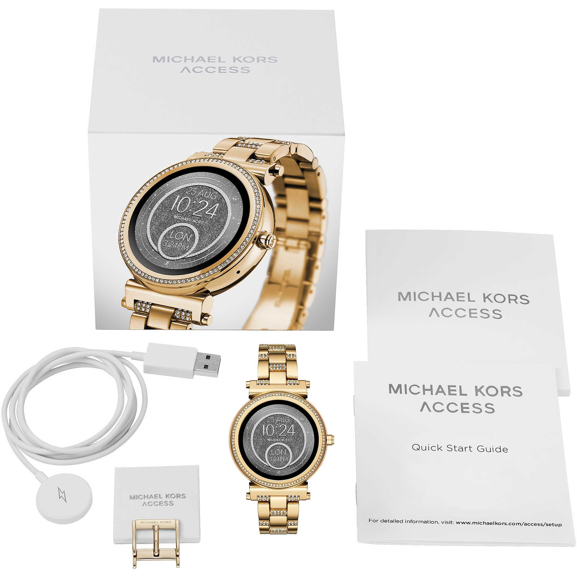 Montre Smartwatch Femme Michael Kors Sofie Mkt5023 Smartwatches