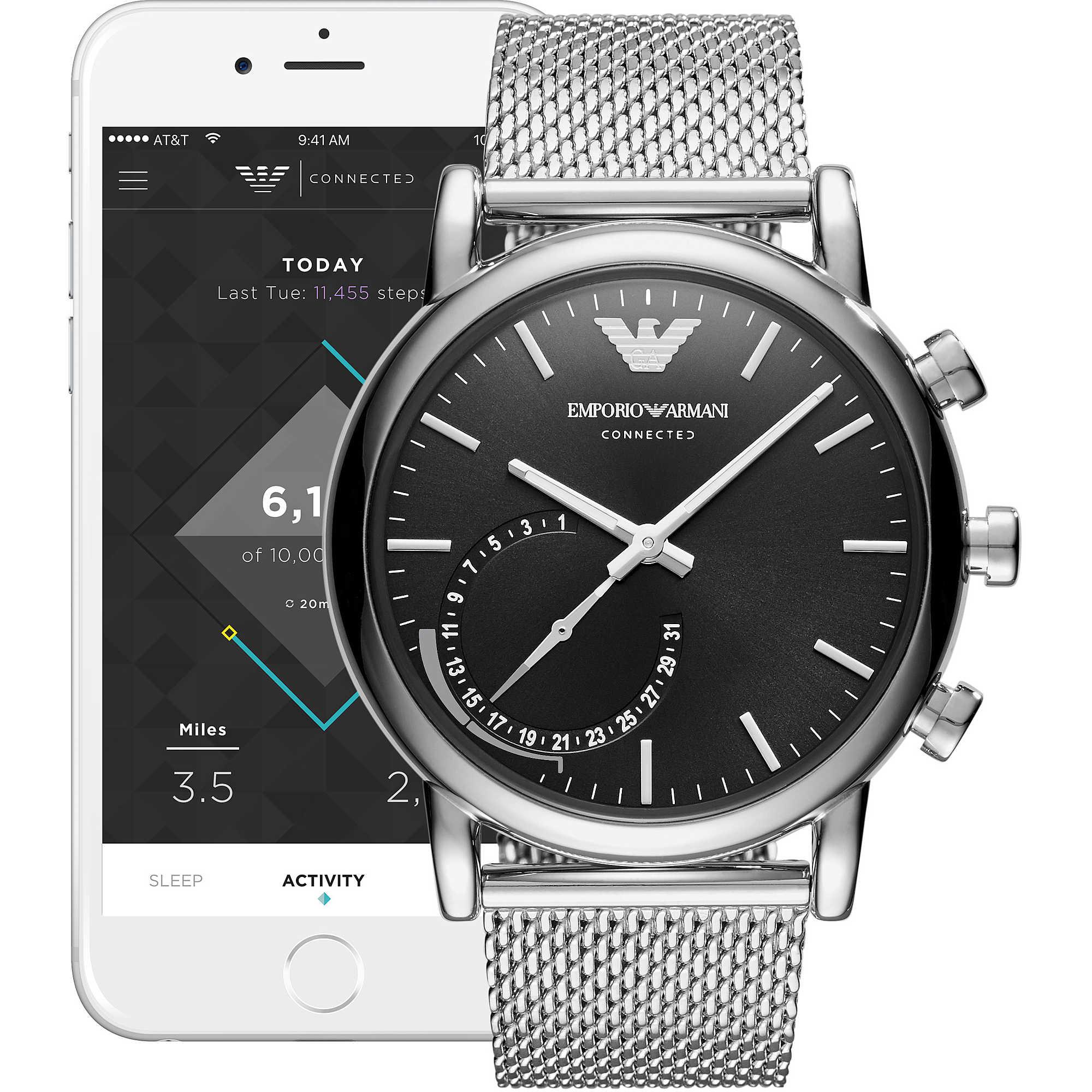 vente la moins chère code promo haute qualité montre Smartwatch homme Emporio Armani ART3007 Smartwatches ...