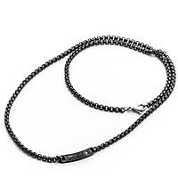 necklace man jewellery 4US Cesare Paciotti Black Day 4UCL2034