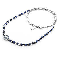 necklace man jewellery 4US Cesare Paciotti Blue Bubbles 4UCL2038