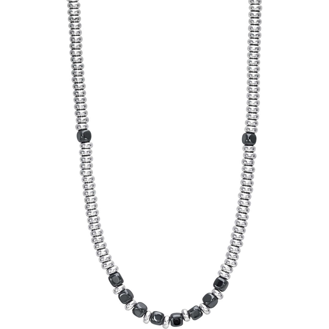 necklace man jewellery Bliss Silver Stone 20071699