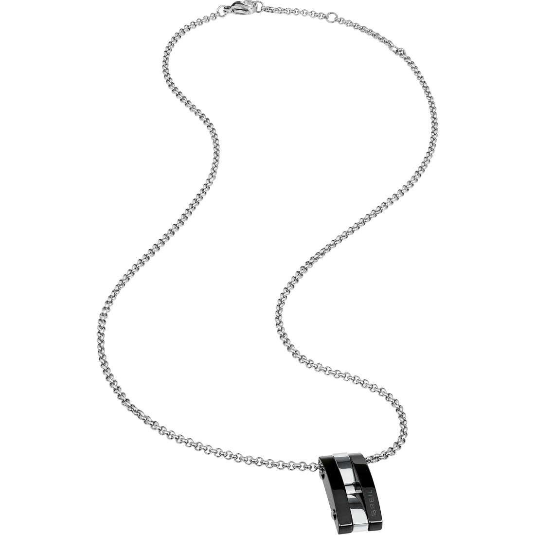 necklace man jewellery Breil Be Black TJ1919